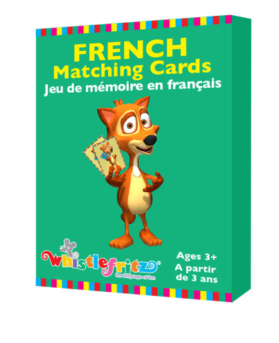 French Matching Cards