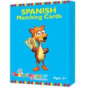 Spanish Matching Cards