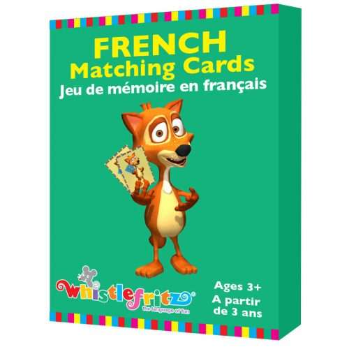 French Matching Cards - <em>Jeu de mémoire en français</em>