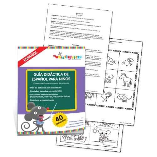 Guía didáctica de español para niños - PDF (Descarga digital)