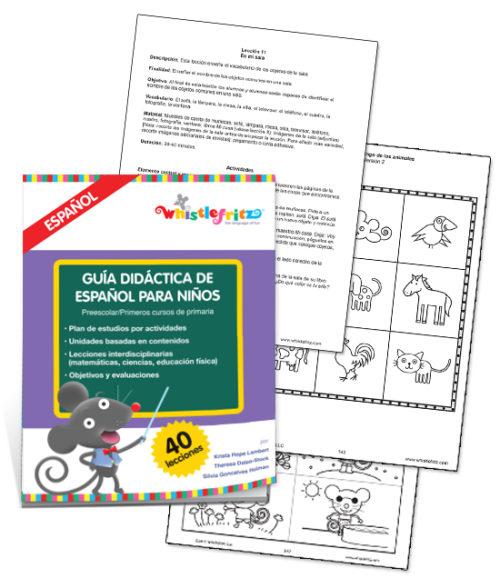 Guía didáctica de español para niños (Descarga digital)