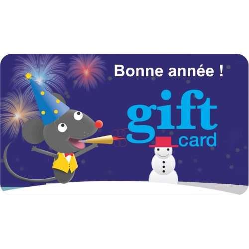 Gift Card (Bonne année !)