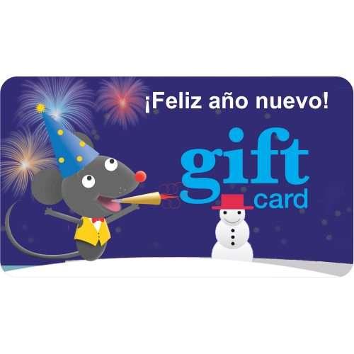Gift Card (¡Feliz año nuevo!)