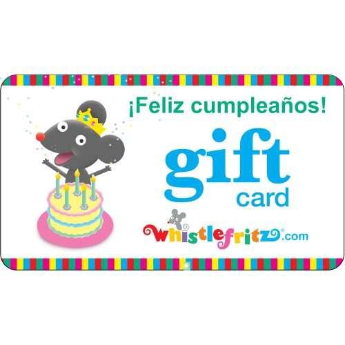 Gift Card (¡Feliz Cumpleaños!)